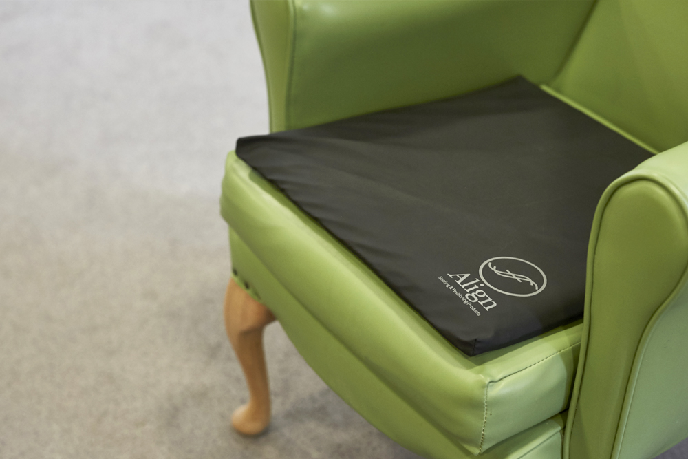 pressure care management using the most appropriate cushion